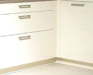 Kuhlmann Küchen: Lackfront weiß matt