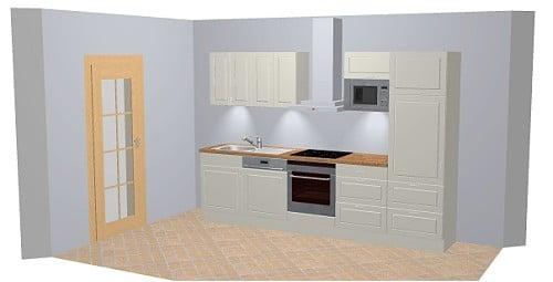 Nobilia Alba 679 / 550 Küche in klassischem Küchendesign
