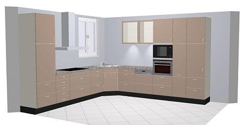 Nobilia Nova 856 / 859 Küche: Hochglanz in trendigen Farben | {Eckschrank küche maße 84}