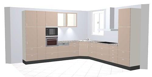 Nobilia Xeno 660 / 670 Küche: Modernes Design In Ultra-Hochglanz