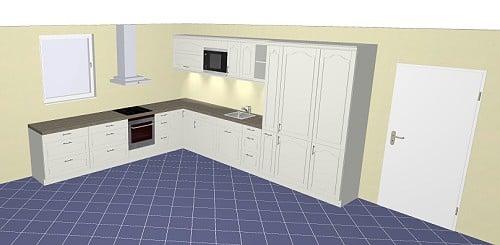 Nobilia Credo 764 / 765 Küche in klassischem Rahmendesign