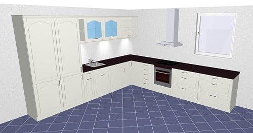 nolte windsor lack landhausmodell in 18 lackfarben. Black Bedroom Furniture Sets. Home Design Ideas