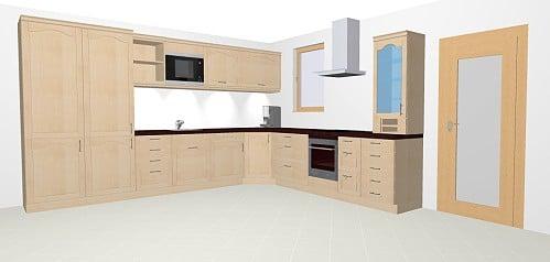 sch ller cambia landhausk che in satinlack. Black Bedroom Furniture Sets. Home Design Ideas