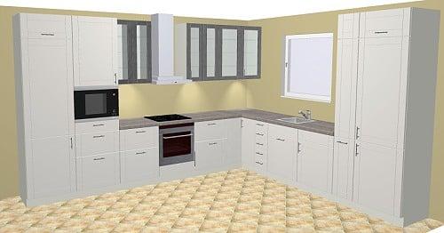 sch ller valletta klassisch mit satin lackfront. Black Bedroom Furniture Sets. Home Design Ideas