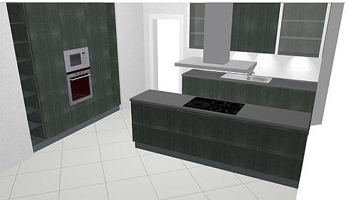 häcker comet küche: modernes design in betonoptik - Häcker Küchen Preisliste