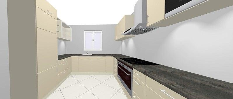 nolte corona k che moderate preise f r trendigen hochglanz. Black Bedroom Furniture Sets. Home Design Ideas