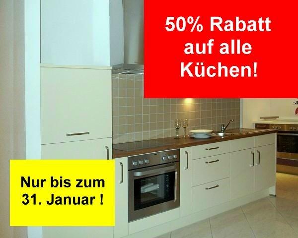 Küchen Rabatt-Aktion 50%