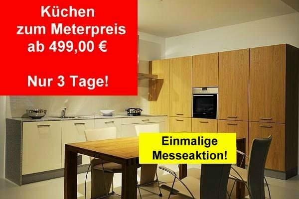 Werbeaktion Küchenkauf zum Meterpreis
