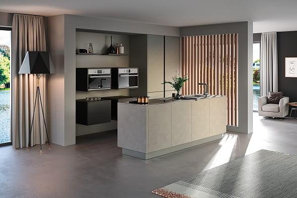 Rotpunkt Küche Ceramica CE in Grey Rock