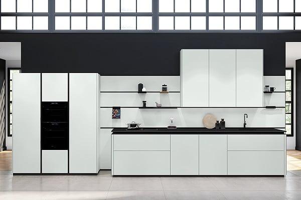 Rotpunkt Küche Zerox HPL XT in Daylight Grey