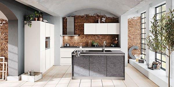 Impuls Küche IP 3500 in Felsgrau