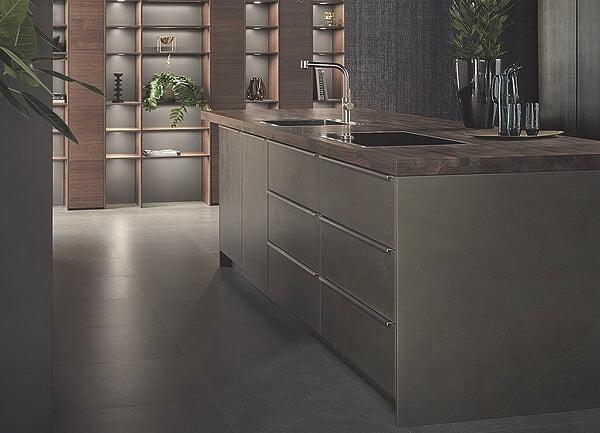 Leicht Küche Steel in Ferro