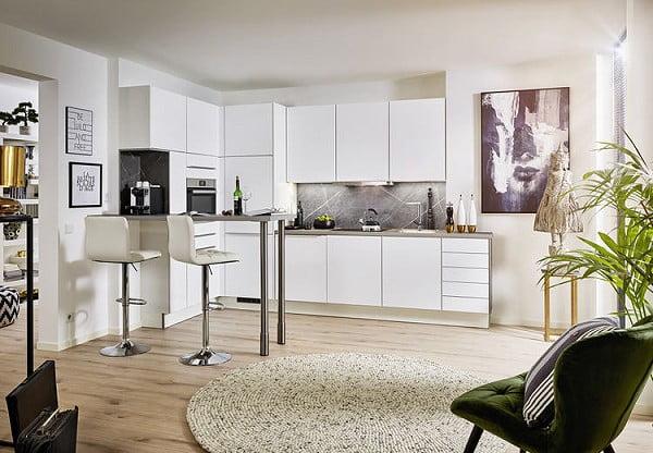 Pino Küche PN 225 in Weiß matt