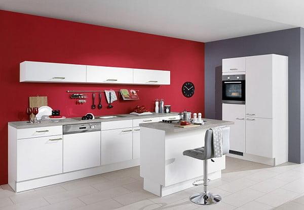 Pino Küche PN 80 in Weiß