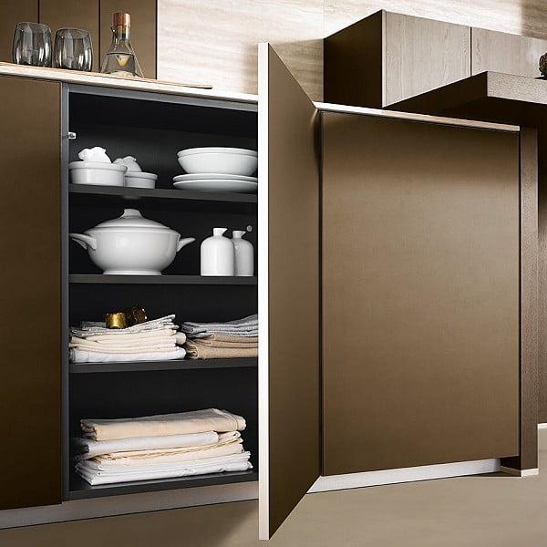 Schüller next125 | Glasfront NX 902 Bronze metallic matt