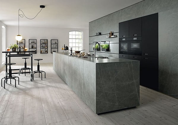 Schüller next125 | Front NX 950 Ceramic Marmor grigio